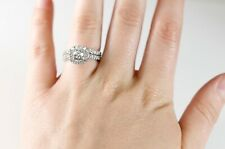 Designer Neil Lane Halo Diamond Wedding Set Size 5 1/2 WHOLESALE