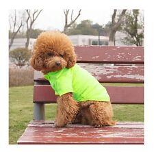 Hundebekleidung Hundeshirt T - Shirt Hundepolo Poloshirt Chihuahua Yorky Grün S