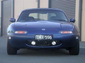 Xenon Halogen Fog Lamps Driving Lights Kit for 1990-1998 Mazda Miata MX-5 NA