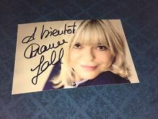 France Gall Eurovision Photo Dedicace Autograph