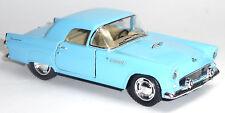 NEU: 1955 Ford Thunderbird blau 1:36 Oldtimer Sammlermodell von KINSMART Neuware