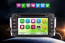 "AUTORADIO touch 7"" Mercedes C CLK M ML A G Navigatore Gps Comandi Volante SD Dvd"