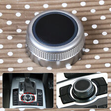Multimedia Main Rotary MMI Knob Cap Menu Control Switch Cover for Audi A6 A8 Q7
