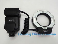 Sigma Electronic MACRO Ring Flash Light EM-140 DG for Canon SLR Cameras New!