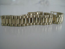 Gent'S SOLID GOLD BRACELET giallo 9 CARATI 10mm 26.7 grammo