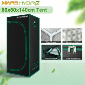 Mars Hydro Portable Indoor Grow Tent | 60x60x140cm | 1680D Reflective Canvas