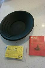 New Gold Panning Kit:  Pan, Secrets book, Sample Real Gold, Tube