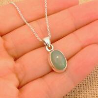 """Ethiopian Opal 925 Silver Pendant necklace Indian Jewellery 16 1/2"""" Inch Chain 2"""