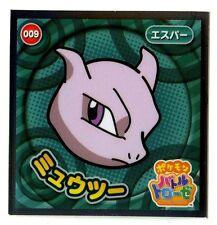 POKEMON STICKER Carte JAPANESE 50X50 2014 N° 009 MEWTWO