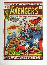Avengers #93 VF/NM 9.0! NEAL ADAMS ART! 52 pg GIANT-SIZE 1971 Iron Man Thor v FF