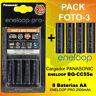 PHOTO-3 - Panasonic Eneloop Ladegeräte BQ-CC55e + 8 akku Eneloop PRO AA 2500mAh