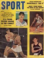 1959 (Mar.) Sport magazine,Baseball,Al Kaline,Detroit Tigers, Oscar Robertson~Fr