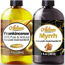Artizen Frankincense and Myrrh Essential Oil Combo Pack (PURE & NATURAL) - 1oz