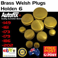 Brass Welch Welsh Freeze Core Plug Set Gallery Kit Fits Holden 6 Red 149 186 202