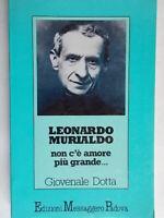 Leonardo Murialdo Dotta Giovenale Padova religione biografia don bosco piemonte