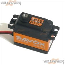 Savox Digital Brushless #SB-2271SG Servo (RC-WillPower) Steel Gear Torque Speed