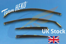 AUDI A4 B6 B7 4-doors Saloon 2002-2009 4-pc Wind Deflectors HEKO Tinted