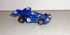Aurora AFX HO SLOT CAR G-PLUS  F1 TYRRELL Jackie Stewart #3 ELF Resin Body RARE