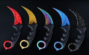 Karambit Claw Tactical Survival Knife Includes Sheath  AU Seller AU Stock POST