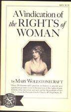 B001PK8SS0 A Vindication of the Rights of Woman. Ed. Charles Hagelman.