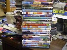 (30) Children's Animal DVD Lot: Disney Brother Bear Narnia Freebirds Scooby-Doo