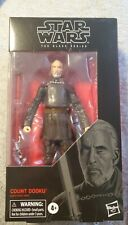 Hasbro Star Wars The Black Series Count Dooku Toy Action Figure - E8072