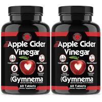 Weight Loss Apple Cider Vinegar, Garcinia Cambogia ACV Fat Burner Pills Capsules