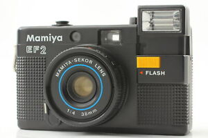 Very Rare! [Exc+3] Mamiya EF2 35mm Compact Camera SEKOR LENS 38mm f/4 From JAPAN