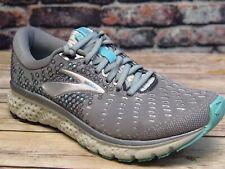 Brooks Glycerin 17 Grey/Aqua/Ebony Running *120283070