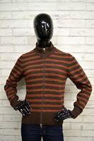 Maglione Donna SERGIO TACCHINI Taglia L Pullover Sweater Cardigan A Righe Lana