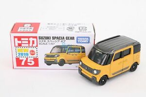 Takara Tomica Tomy #75 Suzuki Spacia Gear Scale 1/57 Mini metal Diecast Toy Car