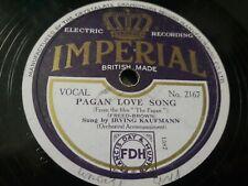 Buddy Blue - Im Just A Vagabond Lover / Irving Kaufmann - Pagan Love Song -...