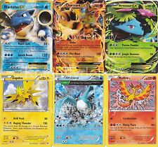 Pokemon 151 Card Set - Charizard EX - Mewtwo - Mew - Articuno - Generation 1