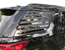 USA Flag Decals for Rear windows - Fits 2011-2018 Ford Explorer Sport FE4
