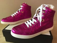 GUCCI Women's Galassia Leather High Top Sneakers.Size 40/10