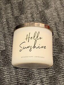 Bath & Body Works 3-Wick Candles 14.5oz Rare Scents | Hello Sunshine ☀️