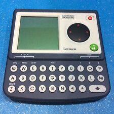lexibook crossword Electronic. Handheld Cr1500 Works Great