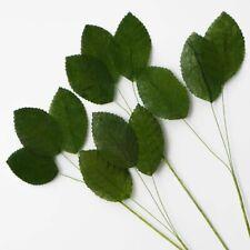 ***RESTOCKED***BARGAIN*** - 36 Artificial Green Leaves: Weddings/Arts/Crafts ETC