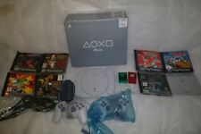 Boxed Playstation 1 PS1 PSOne PS One Console 2 Controllers 7 Games Tomb Raider
