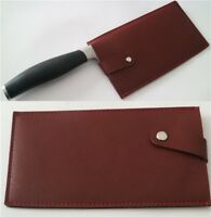 Chinese Chef's Knife Sheath Leather Chopper Cleaver Knife Bag Blade Guard Case