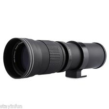 420 - 800MM F/8.3 - 16 Super Telephoto Manual Zoom Lens for Canon EOS EF Camera
