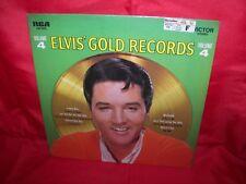 ELVIS PRESLEY Elvis' gold records vol. 4 LP record album SEALED