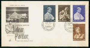 Mayfairstamps VATICAN CITY FDC 1964 COVER NEW YORK WORLDS FAIR COMBO wwm7707