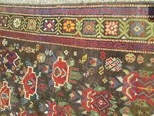 Antique Caucasian Karabagh Oriental Rug W/ Rare Color Combination_A Beauty !