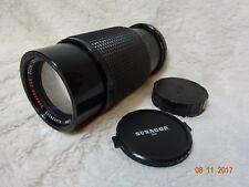 Sunagor 80-200 mm f4.5-5.5 Olympus Ajuste Limpio óptica pedido completo en funcionamiento