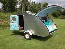 """ Step By Step"" Build A Teardrop Camper Caravan Trailer plans  1201 pages On CD"