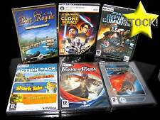 LOTTO STOCK 6 GIOCHI STARWARS THE CLONE WARS PORT ROYALE PC NUOVI ITALIA STOCK66