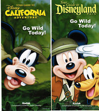 Disneyland/CA Adventure Guides January 7-13, 2011 w/schedule