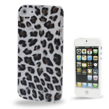 FUNDA iPhone 5 CARCASA LEOPARDO Leopard  blanco negro