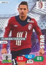 LOSC-12 FLORIAN THAUVIN # LILLE CARD ADRENALYN FOOT 2014 PANINI